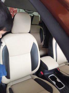 May Bọc Ghế Da Xe Nissan Teana