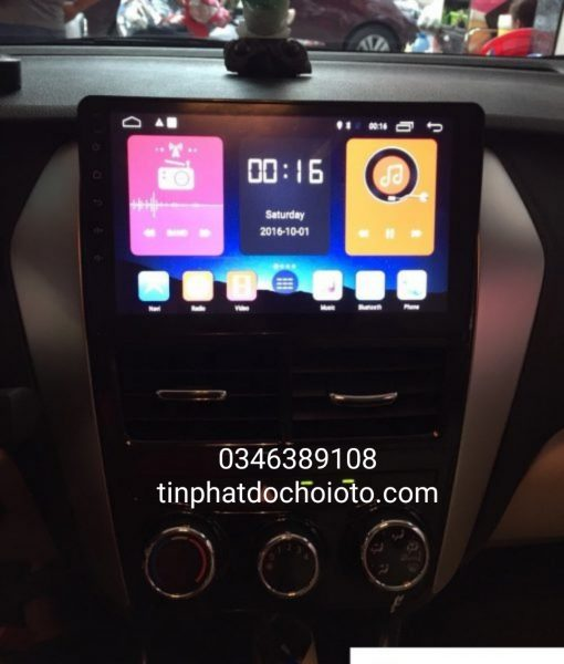 DVD Android Xe Vios 2019