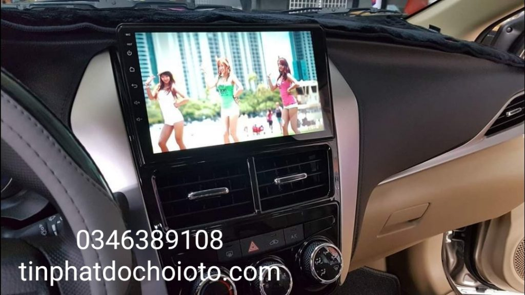 Lắp DVD Android Xe Vios 2019