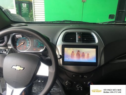 Lắp DVD Android Xe Chevrolet Spark