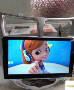 Lắp DVD Android Xe Accent