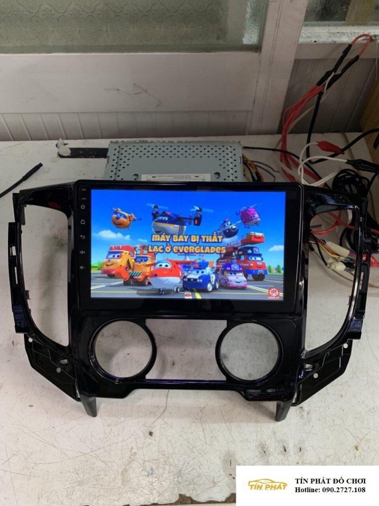 Lắp DVD Android Xe Mitsubishi Triton Quận 12