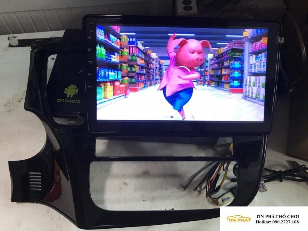 Lắp DVD Android Xe Mitsubishi Outlander Gò Vấp