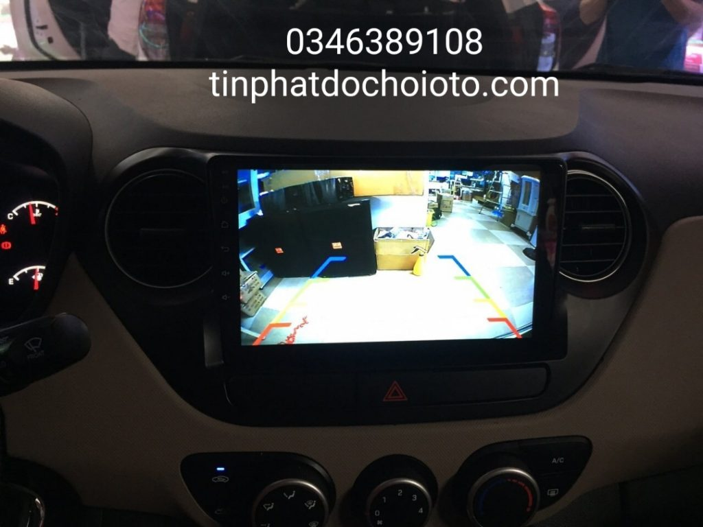 Lắp DVD Android Xe I10