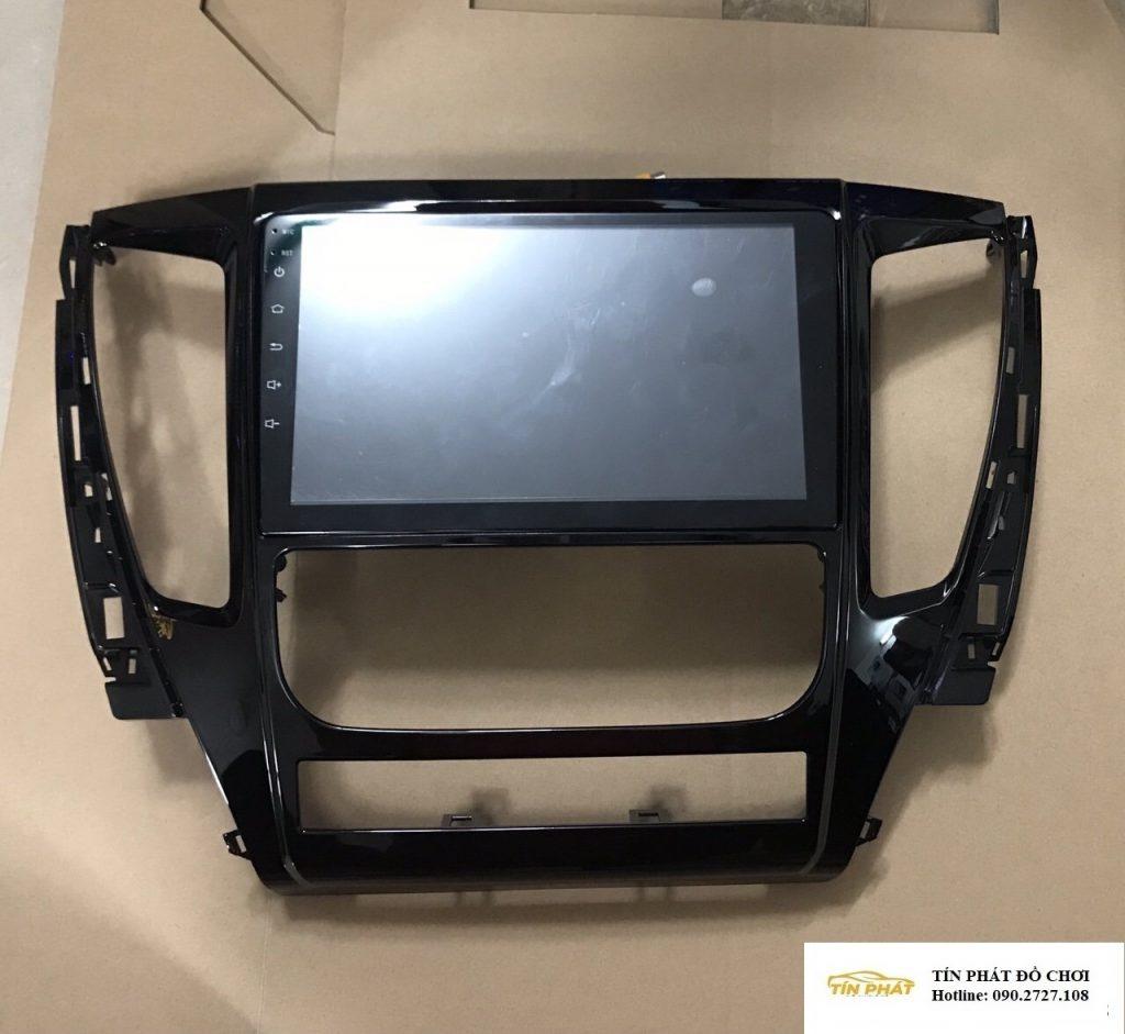 Lắp DVD Android Xe Mitsubishi Pajero Thủ Đức