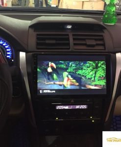 Lắp DVD Android Xe Camry