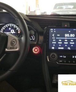 Lắp DVD Android Xe Honda Civic