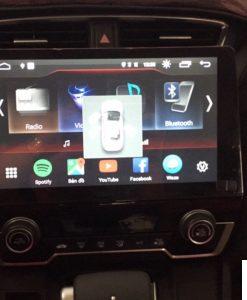 Lắp DVD Android Xe Honda CRV