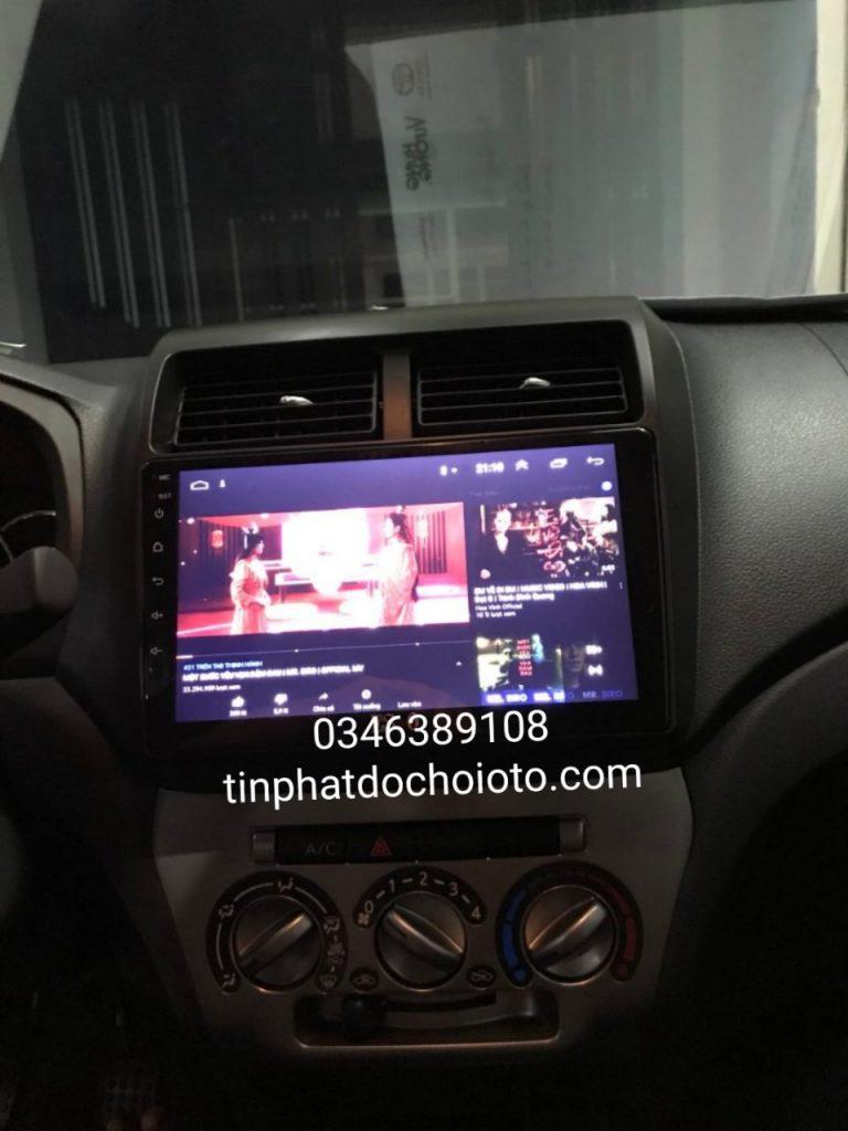 Lắp Đầu DVD Android Xe Wigo