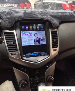 Lắp DVD Android Xe Chevrolet Cruze