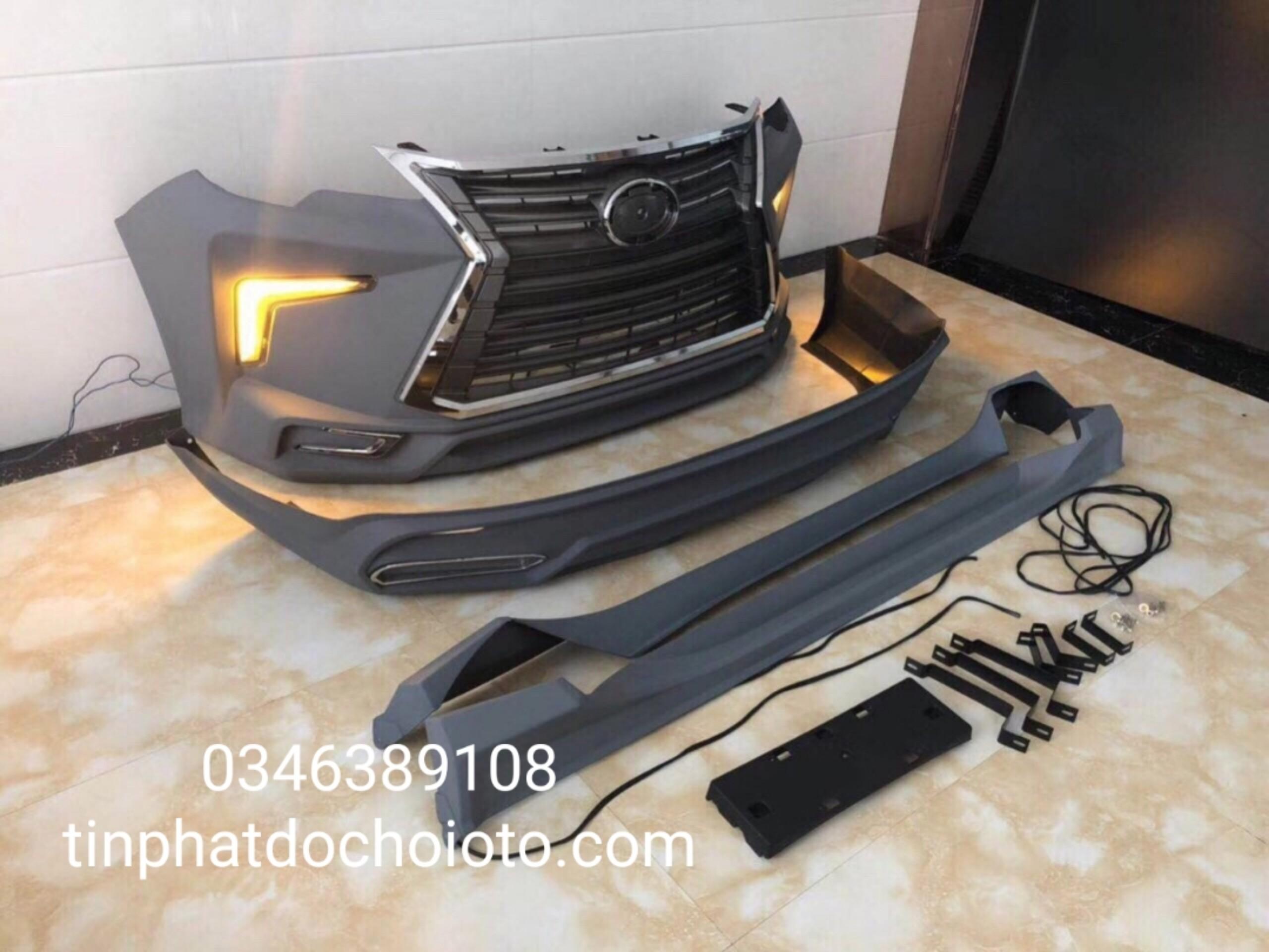 Body Kit Xe Fortuner Kiểu Lexus 570
