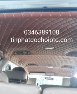 Bọc Trần La Phông 5D Xe Innova Gò Vấp