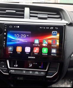Hoàn Thành Quy Trình Dịch Vụ Lắp Đầu DVD Android Xe Honda BrioTận Nơi Tại Quận 12, Hcm