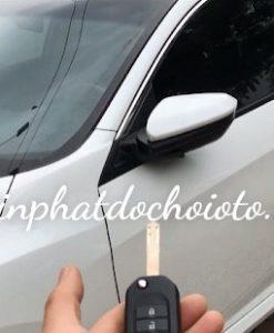 Độ Gương Gập Điện Tự Động Xe Honda Civic