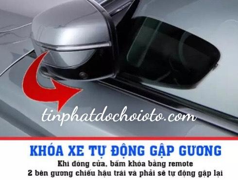 Độ Gương Gập Điện Tự Động Xe Hyundai Kona