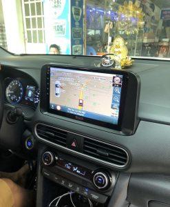 Màn Hình DVD Android Xe Hyundai Kona Chính Hãng Tích Bản Đồ Dẫn Đường Vietmap S1