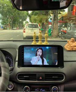 Màn Hình DVD Android Xe Hyundai Kona Chính Hãng