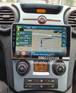 Màn Hình DVD Android Esson Lắp Xe Kia Carens Tích Hợp Bản Đồ Vietmap S1