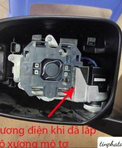 Độ Gương Gập Điện Xe Mitsubishi Mirage