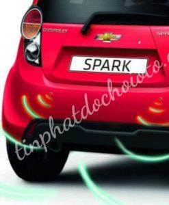 Lắp Cảm Biến Lùi Chevrolet Spark