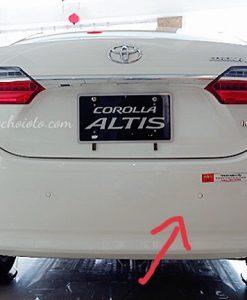 Lắp Cảm Biến Lùi Corolla Altis