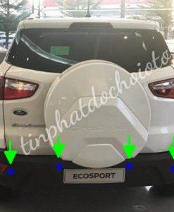 Lắp Cảm Biến Lùi Ford Ecosport