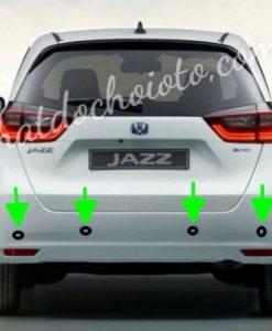 Lắp Cảm Biến Lùi Honda Jazz