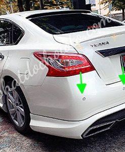 Lắp Cảm Biến Lùi Nissan Teana