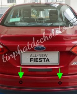 Lắp Cảm Biến Lùi Xe Fiesta