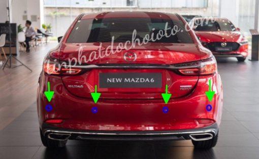 Lắp Mắt Cảm Biến Lùi Mazda 6