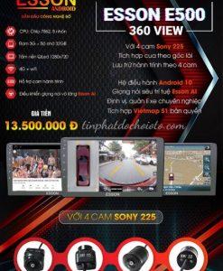 Màn Hình Esson E500 360 View